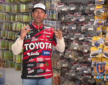 Chalk Talk: Ike�s system for selecting lure sizes