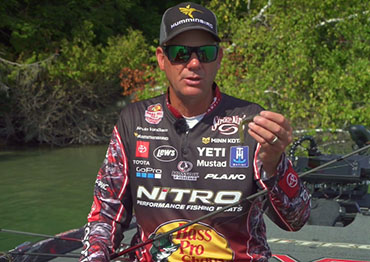 Chalk Talk: Heavy tubes and swimbaits with KVD