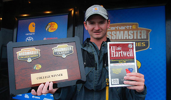 Bryan College angler claims Classic slot