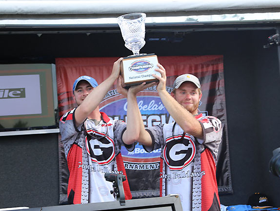 Georgia Duo Had Big Week On Tennessee River