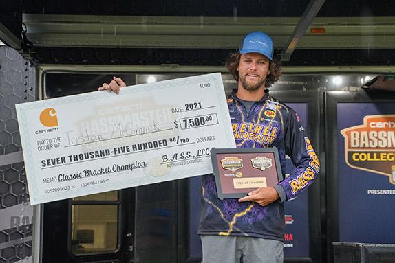 Bethel Angler Wins Classic Bracket By 3 Ounces