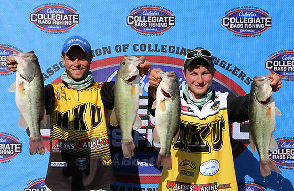 NKU Anglers Had Big School to Themselves