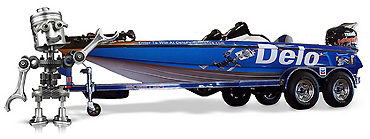 Delo sweepstakes offers boat