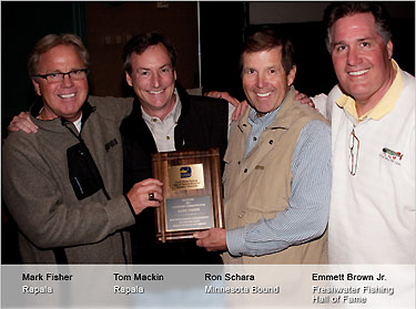 Rapala's Fisher honored