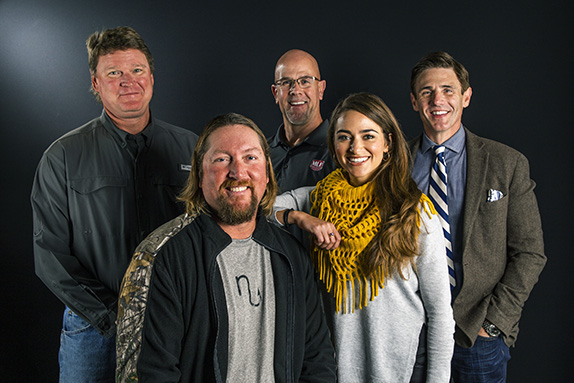 MLF goes with five-person broadcast team