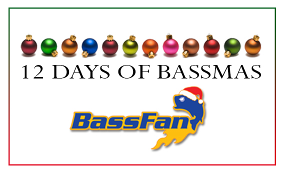 <b><font color=red>12 Days of Bassmas � Day 1 giveaway</font color></b>