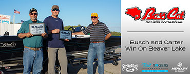 Busch-Carter team tops Bass Cat event