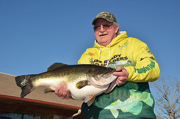 Lake Fork giant now tops 15 pounds