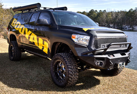 BOOYAH giving away tricked-out Tundra