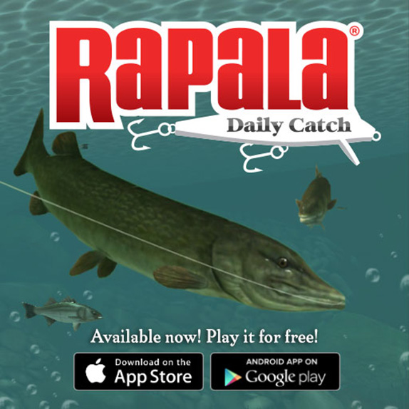 Rapala releases Daily Catch app