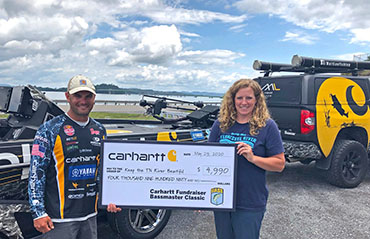 Carhartt raises almost 5K for TN River group