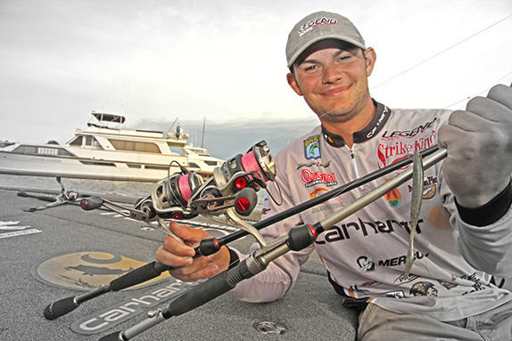 Gotta see it � why Lee prefers bright braided line