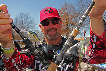 Classic: Swindle high on crankbait, bladed jig