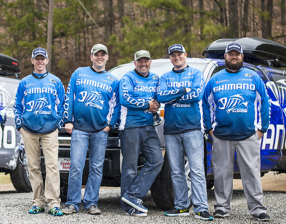 On The Road With The Shimano Experience Team