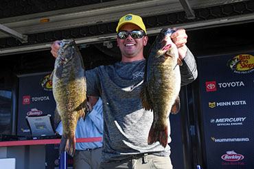 Canada's Climpson leads day 1 at 1000 Islands