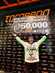 Kayak champ pockets $73,000