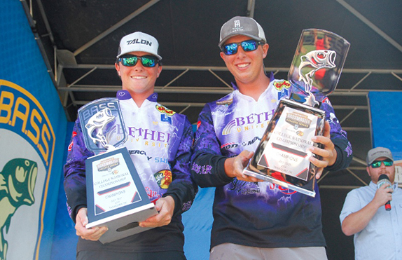 Bethel duo claims Bassmaster College title