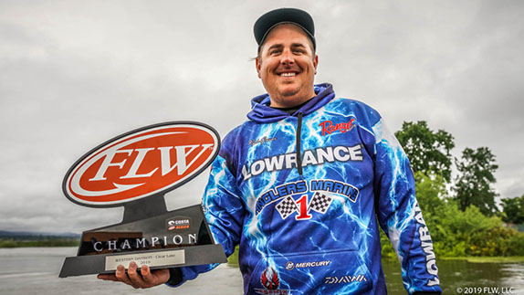 Grover wins Series event at Clear Lake