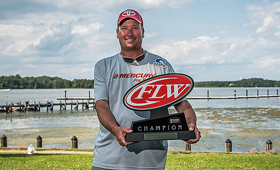 Hicks' First FLW Series Win Was Long-Awaited