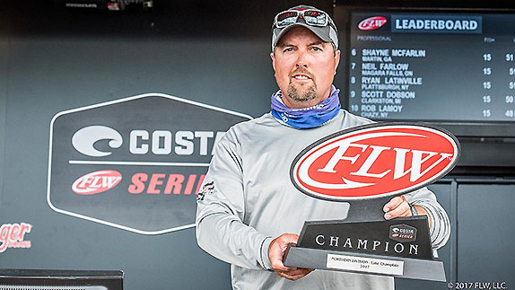 Michigan angler wins FLW Series at Champlain