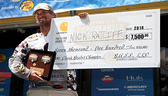 Campbellsville angler wins College Bracket
