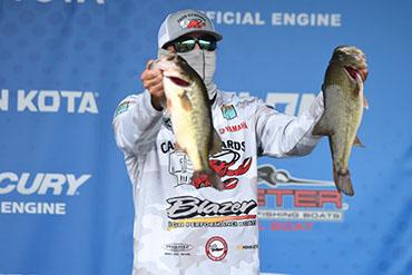 Louisiana angler leads Nation Championship