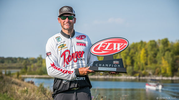 Virginian victorious at St. Lawrence FLW Series