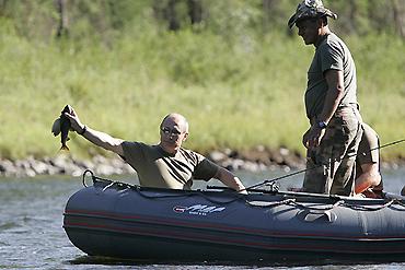 Putin's fishing trip