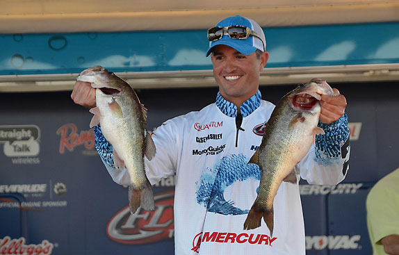 Ashley Opens Big Lead With 15 1/2-Pound Stringer