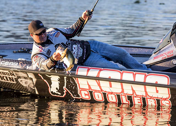 Go Fish to back FLW pro Batts