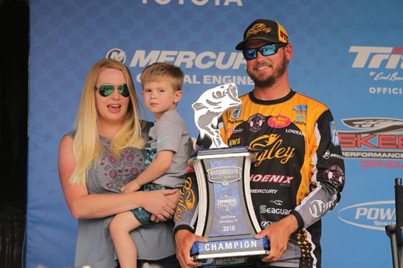 After Day 1, Benton Was All In On Topwater