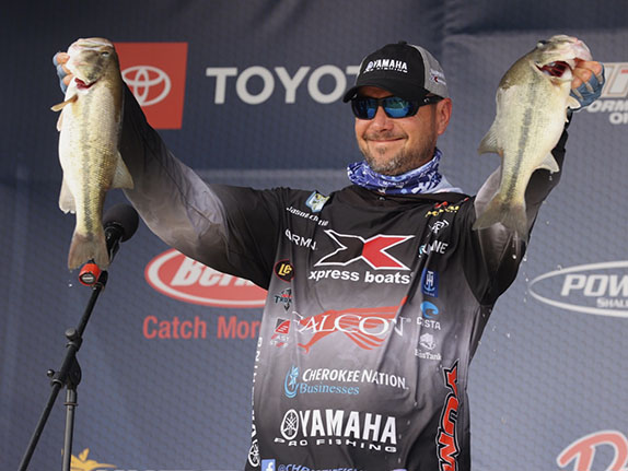 Christie Takes Over Top Spot At Sabine River