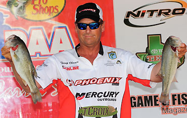 Part-Time Angler Clouse Seeks PAA Points Title