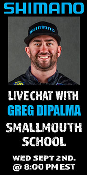 DiPalma to talk fall smallmouth