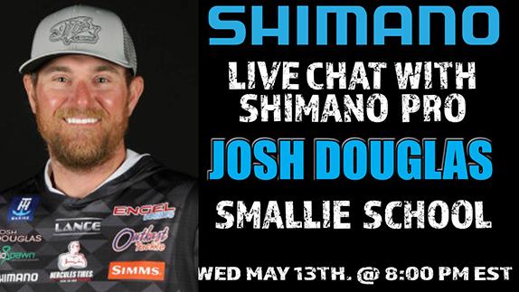 Douglas talks smallmouth on Facebook Live