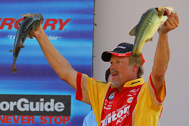 Transitioning Fish, Dearth Of Cover Make Dardanelle Tough