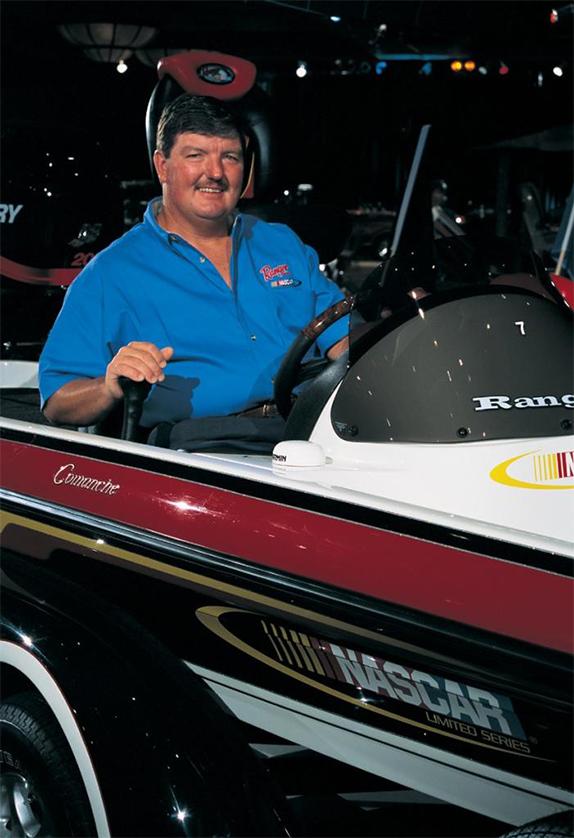 Ranger Names New  NASCAR Fishing Team