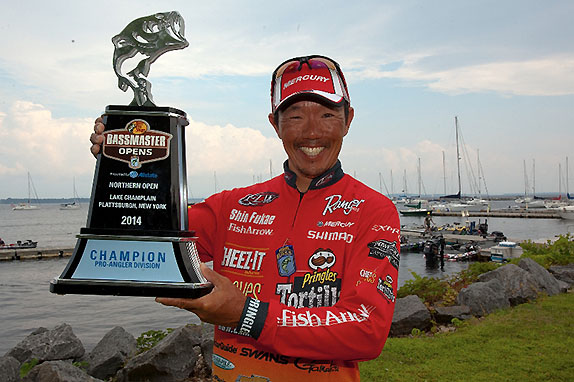 Fukae claims Champlain victory