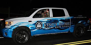 Howell hooks King's Home