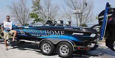 Win Howell�s boat