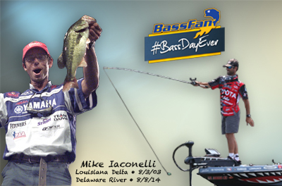 Hey, Mike Iaconelli – What's Your #BassDayEver?