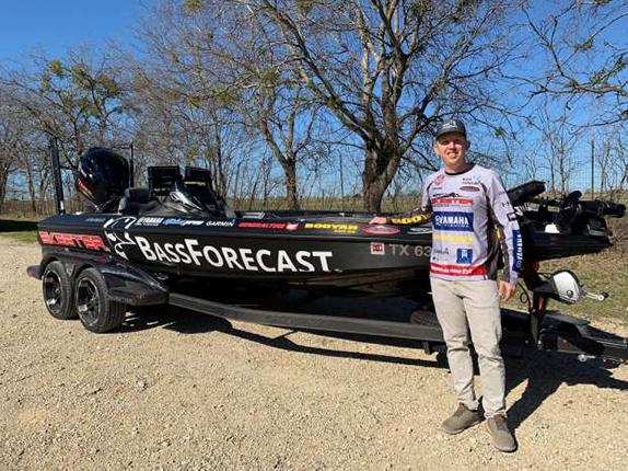 Jones Jr. partners with fishing app