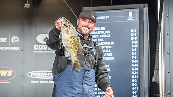 Martin Atop Tight Leaderboard After Day 1