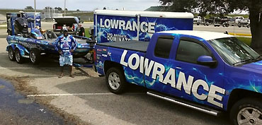 Monroe to fly Lowrance colors on FLW circuit