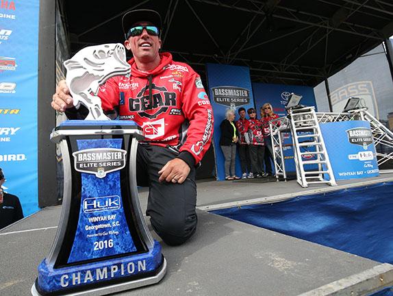 Myers' Bait Change On Final Day Was No 'Fluke'