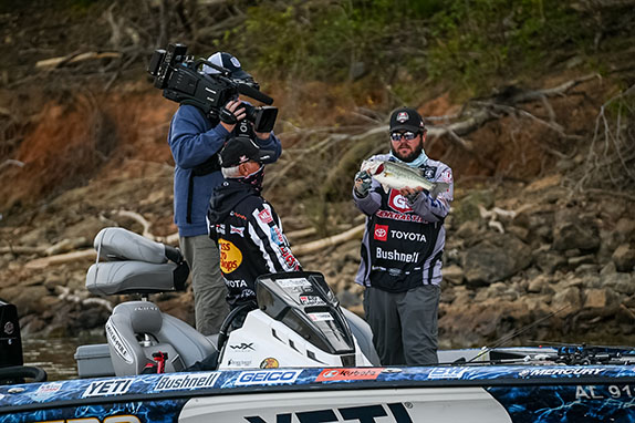 Neal Surpasses 50-Pound Mark On Day 1