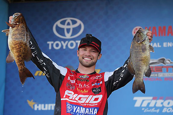 Palaniuk, Combs Are Big Winners At Mille Lacs