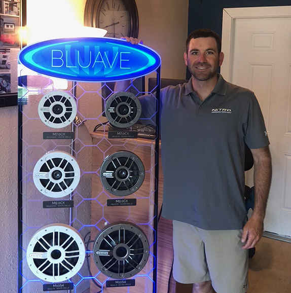 Scanlon lands deal with Bluave Marine Audio