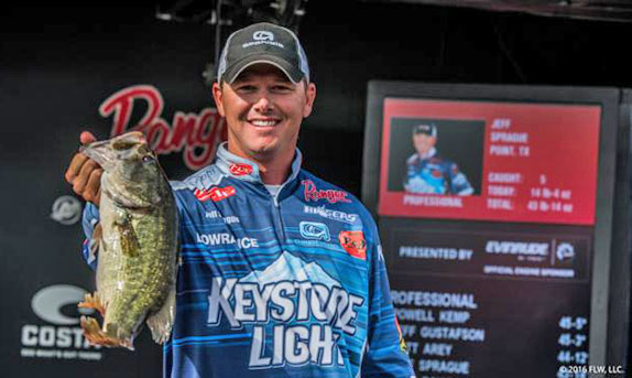 Fishing His Own Way Has Paid Off For Sprague