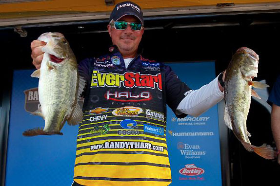 Tharp still in control at Ross Barnett